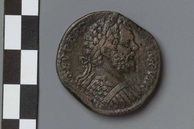 Sestertius with bust of Septimius Severus
