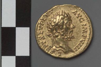 Aureus with bust of Septimius Severus