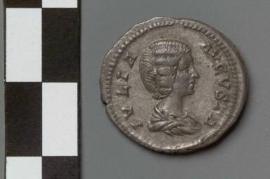 Denarius with bust of Julia Domna