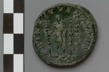 Sestertius with bust of Diadumenian
