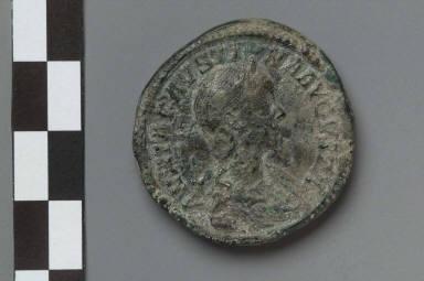 Sestertius of Annia Faustina