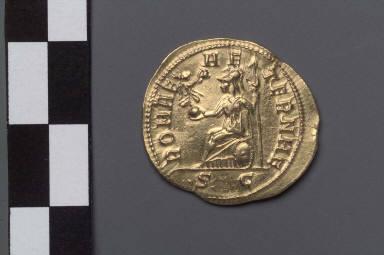 Aureus with bust of Tacitus