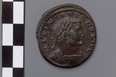 As with bust of Galerius Maximianus