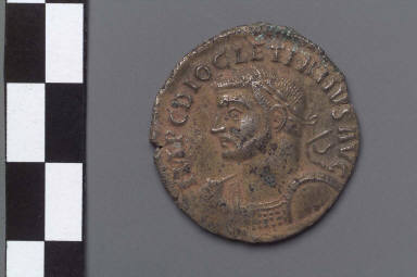 Follis with bust of Diocletian