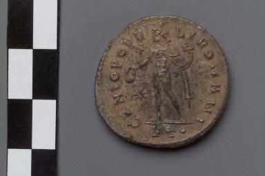 Follis with bust of Galerius Maximianus