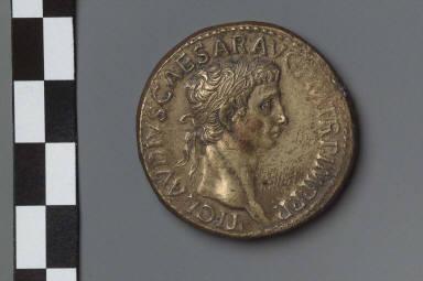 Sestertius with head of Claudius