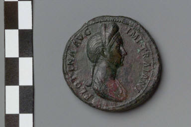 Sestertius with bust of Plotina