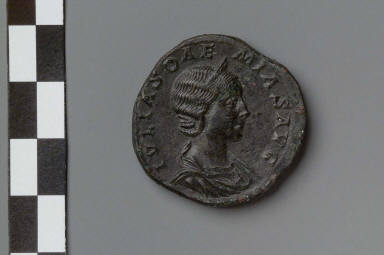 Sestertius with bust of Julia Soaemias
