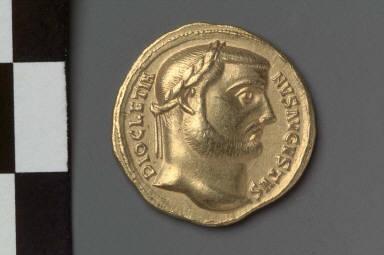 Aureus with head of Diocletian
