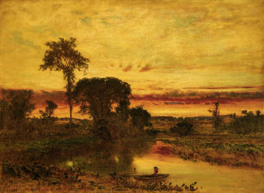 Sunset Landscape, Medfield