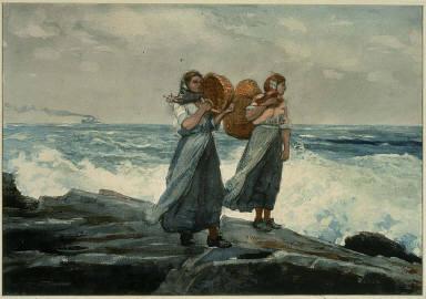 [A Fresh Breeze, Fishergirls, England]