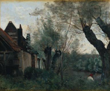 Willows and Farmhouse at Sainte-Chatherine-lez-Arras