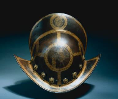 Morion of the State Guard of Elector Christian I of Saxony