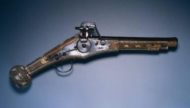 Wheel-Lock Hunting Pistol