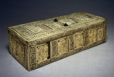 Casket with Scenes of Adam and Eve