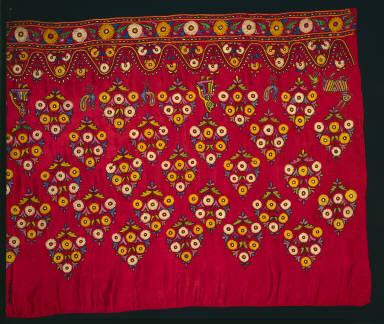 Panel for a Skirt (Ghagra)