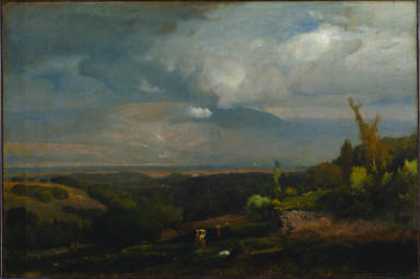 Approaching Storm from the Alban Hills