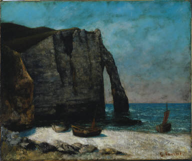 Sea and Rocks at Etretat