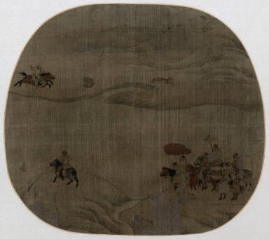 Tartar Horseman Hunting