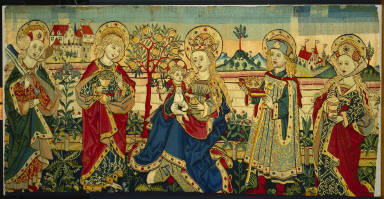 The Virgin Enthroned with Four Saints