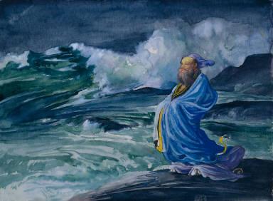 Rishi Calling up a Storm
