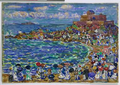 [Beach, St. Malo, On the Beach St. Malo]