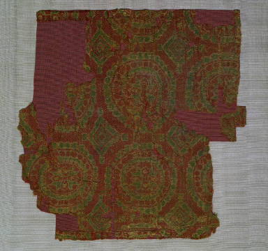 Textile with Geometric Design