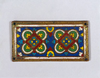 Plaque, probably from a Reliquary Shrine