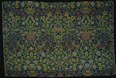 Cloth with Violet and Columbine Design