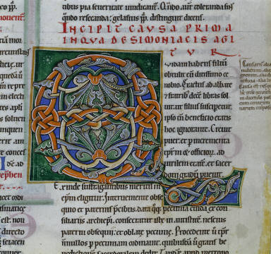 Single Leaf from Gratian's Decretum