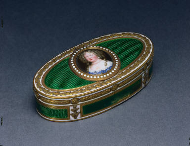 Gold and Enamel Box