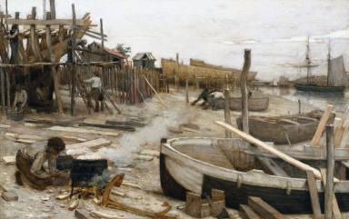[Le chantier, The Boatyard]
