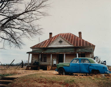 House and Car, near Akron, Alabama