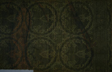 Textile with Felines and Eagles