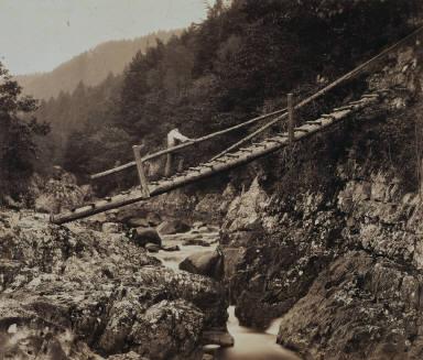 The Miners' Bridge, on the Llugwy, North Wales