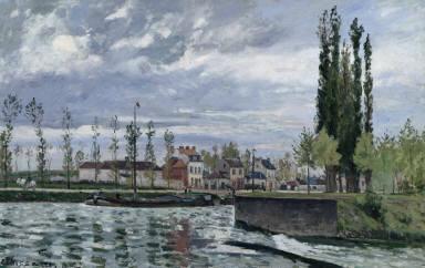 [L'écluse à Pontoise, The Lock at Pontoise]