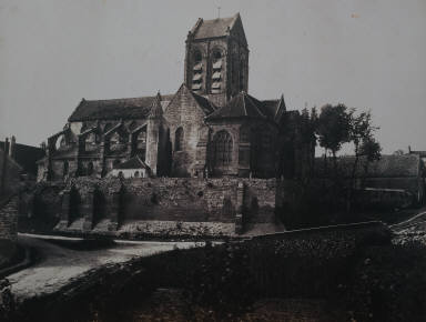 [Eglise d'Auvers, Church at Auvers]