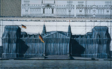Wrapped Reichstag, Project for Berlin