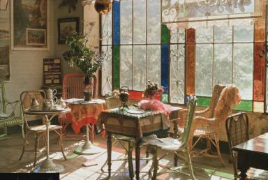 The Tea Room at Brides-les-Bains, Savoy