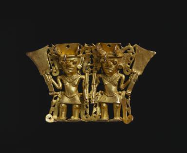 Double Warrior Pendant