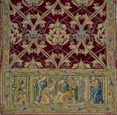 Sleeve from Dalmatic with Apparel
