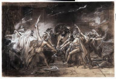 [Le Serment des sept chefs devant Thèbes, The Oath of the Seven Chiefs against Thebes]