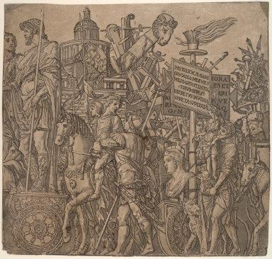 The Triumphs of Julius Caesar (series of 10 plates)