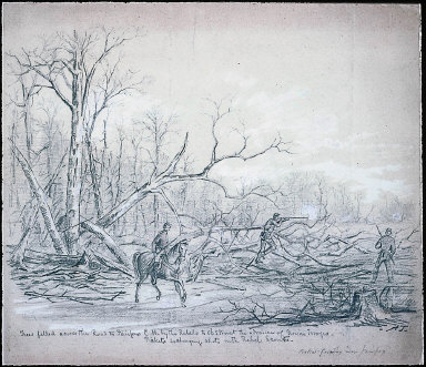 Pickets firing near Fairfax