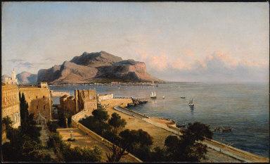 Monte Pellegrino at Palermo, Italy