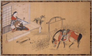 Parody of Lady Kogo and Minamoto no Nakakuni