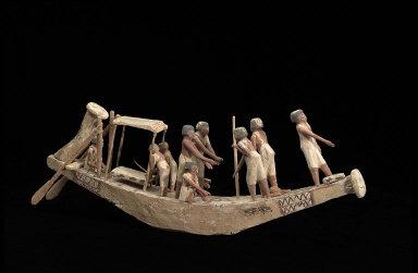 Model funerary boat