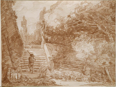 Landscape with Stairs
