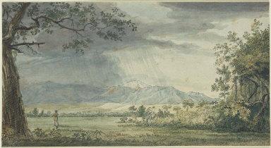 View of James Peak in the Rain