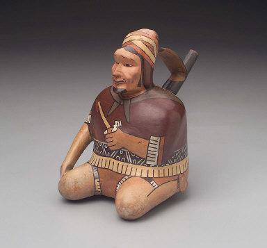 Human effigy vessel